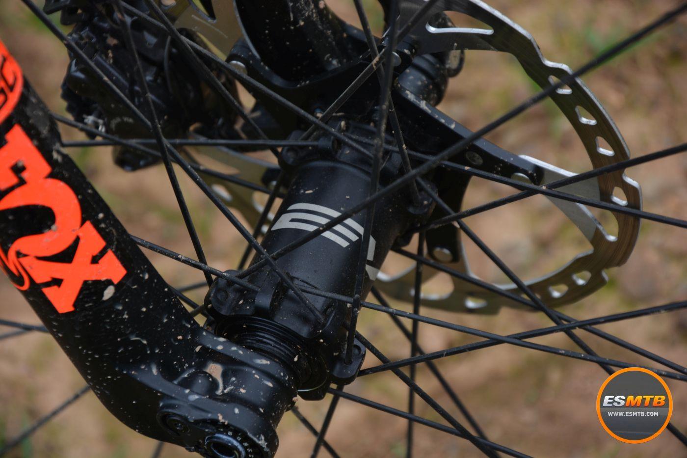Los bujes de las ruedas BH de carbono