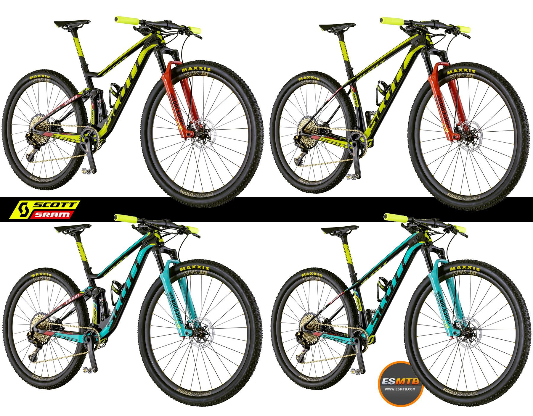 Las 4 bicis del equipo