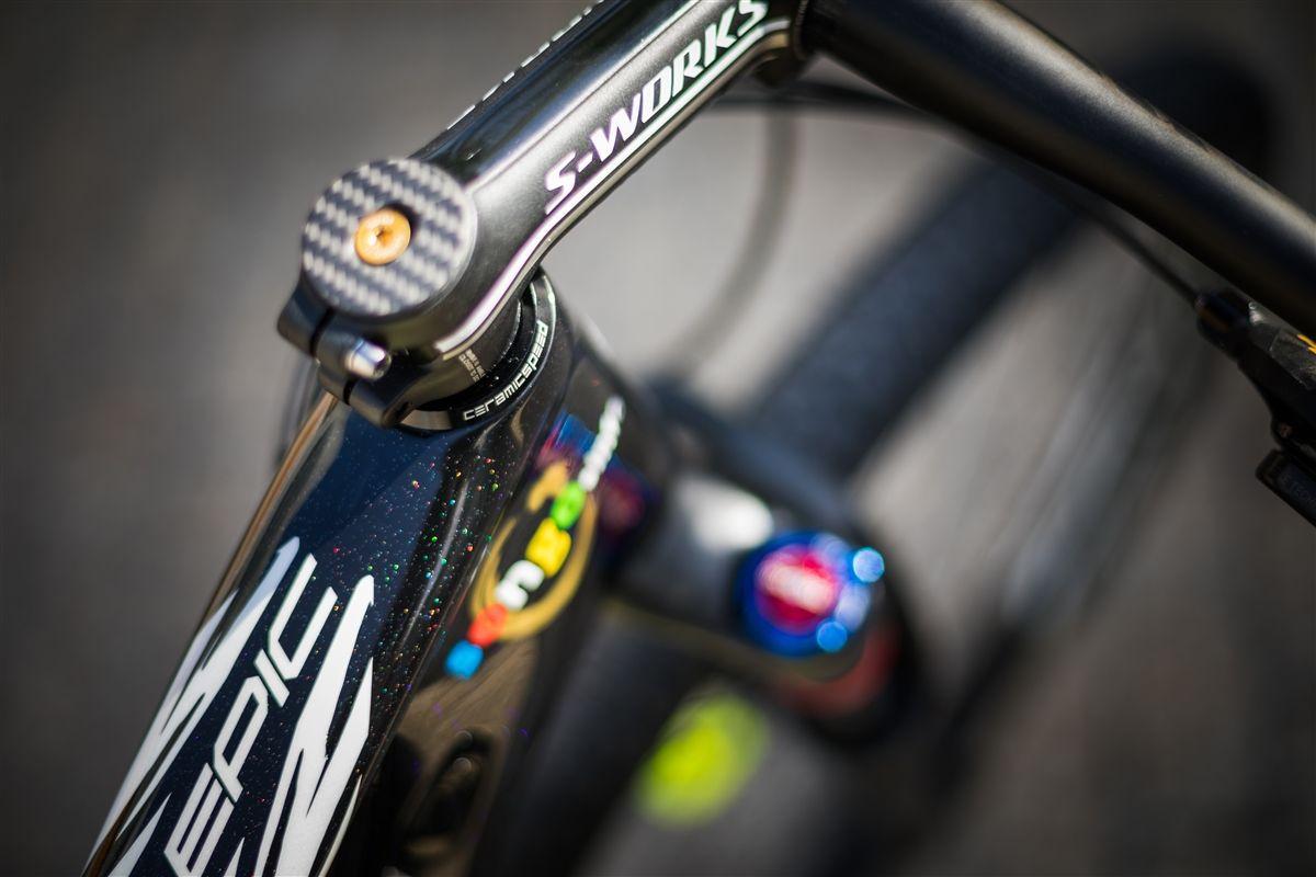 Detalles de la bici de Kulhavy