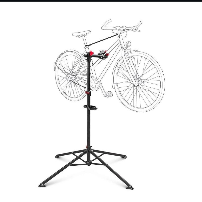 Soporte caballete plegable para bicicletas