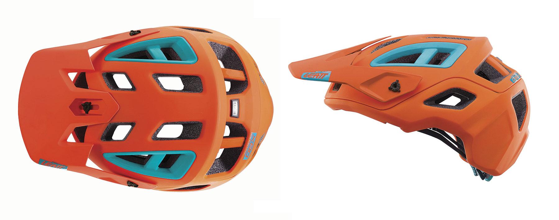 Casco  casco Leatt DBX 3.0 AllMountain - Naranja
