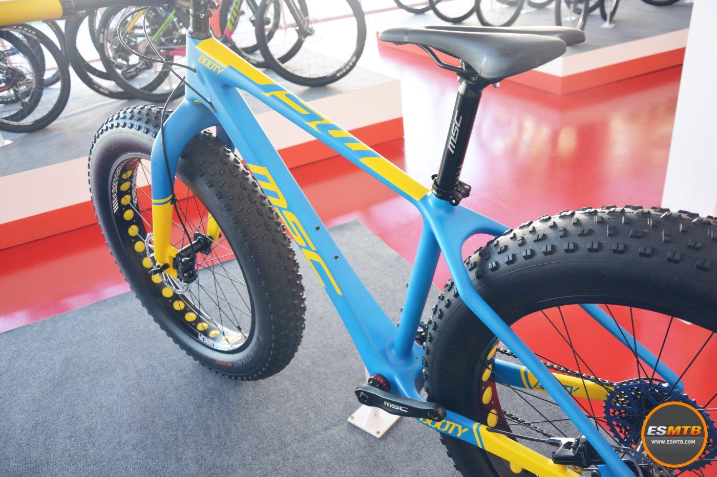 Fat-bike en el catálogo de MSC