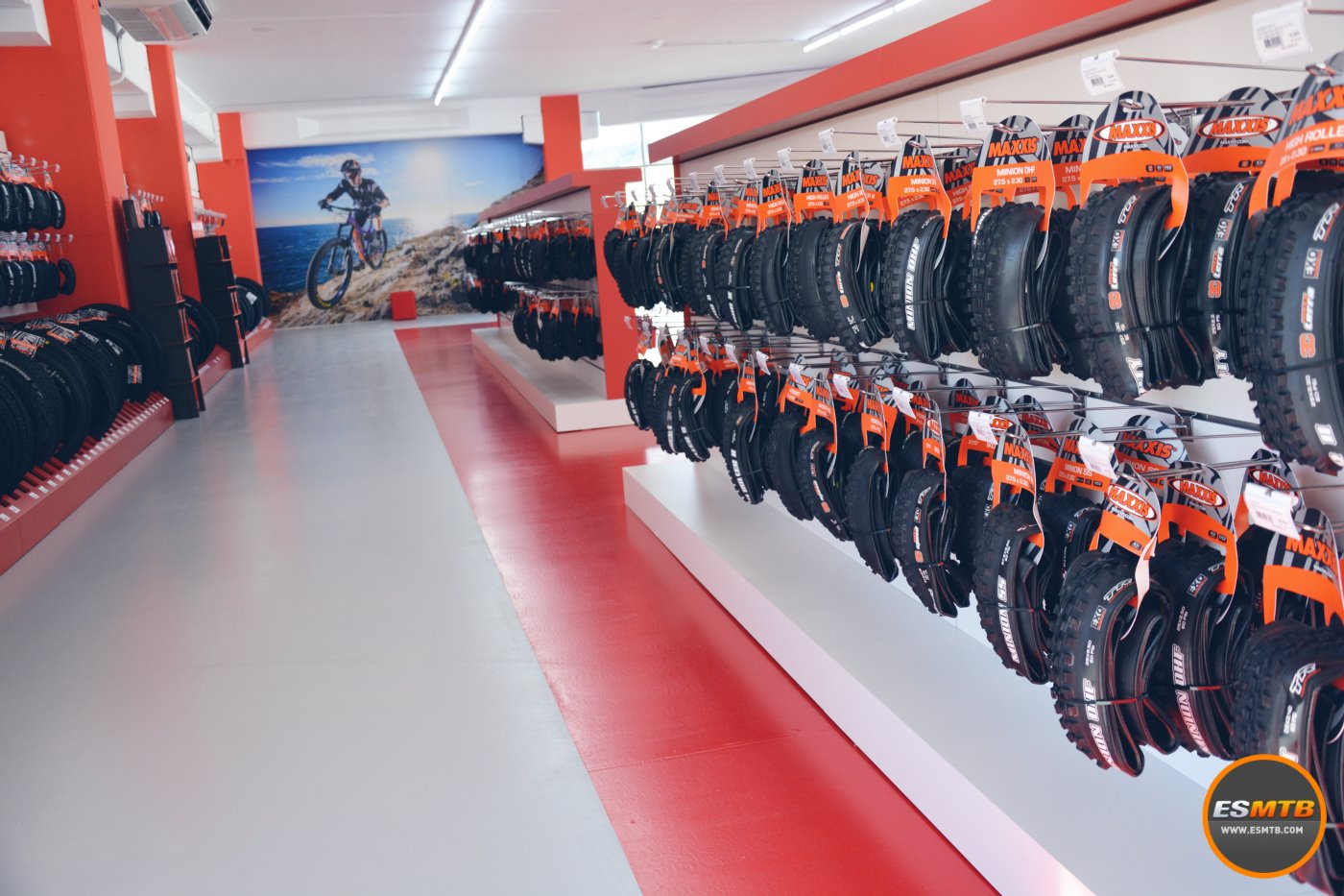 El paraíso para los frikis de los neumáticos