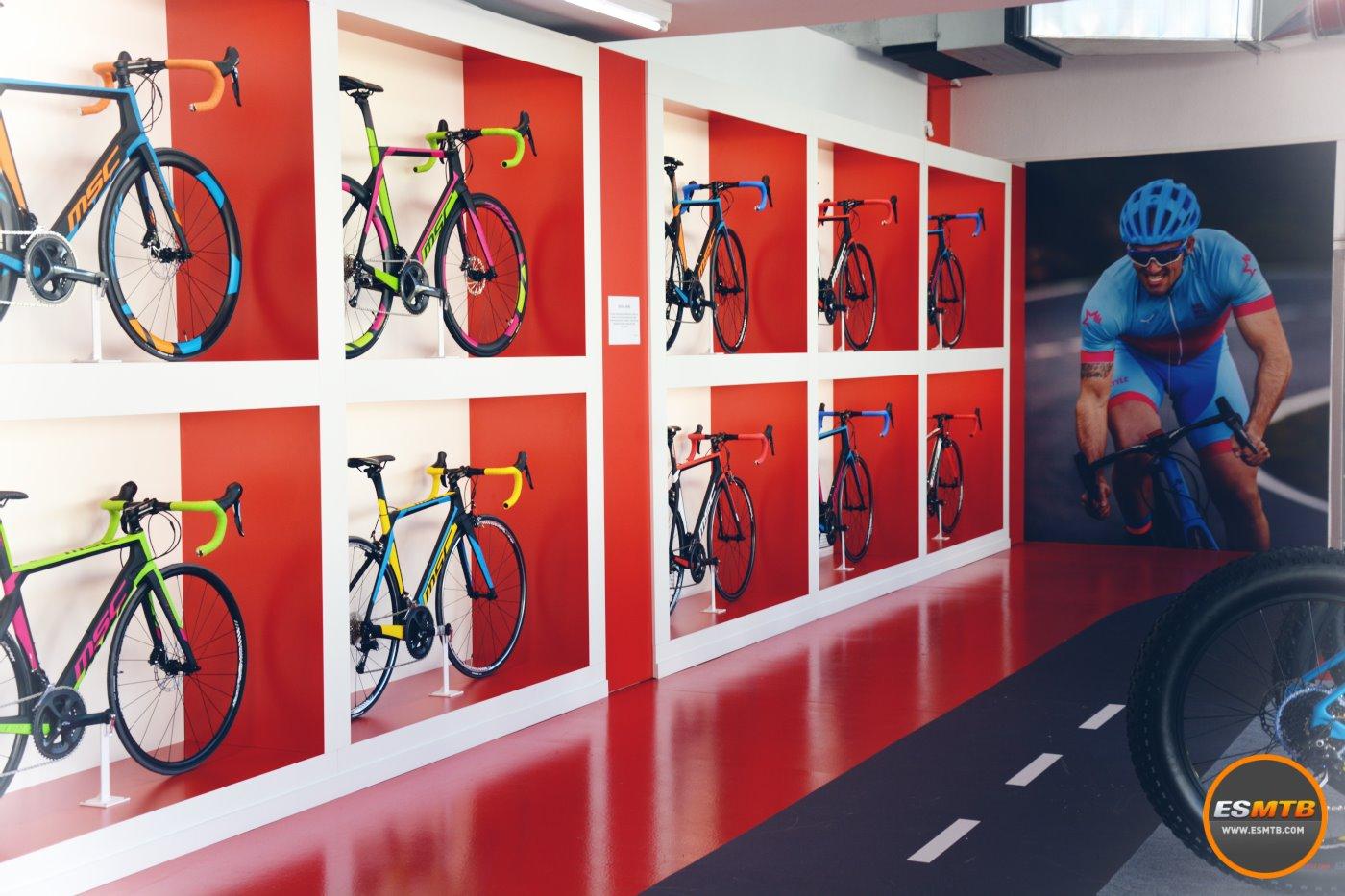 La gama de bicicletas de carretera