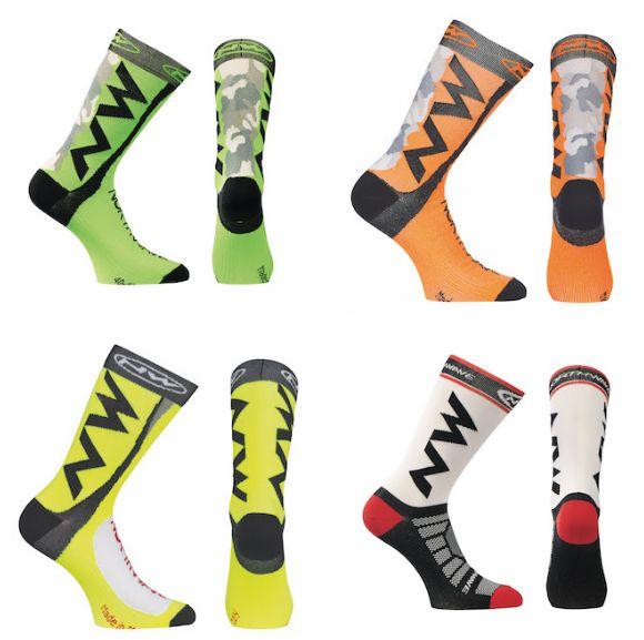 El diseño emblemático de la marca italiana plasmado en sus calcetines