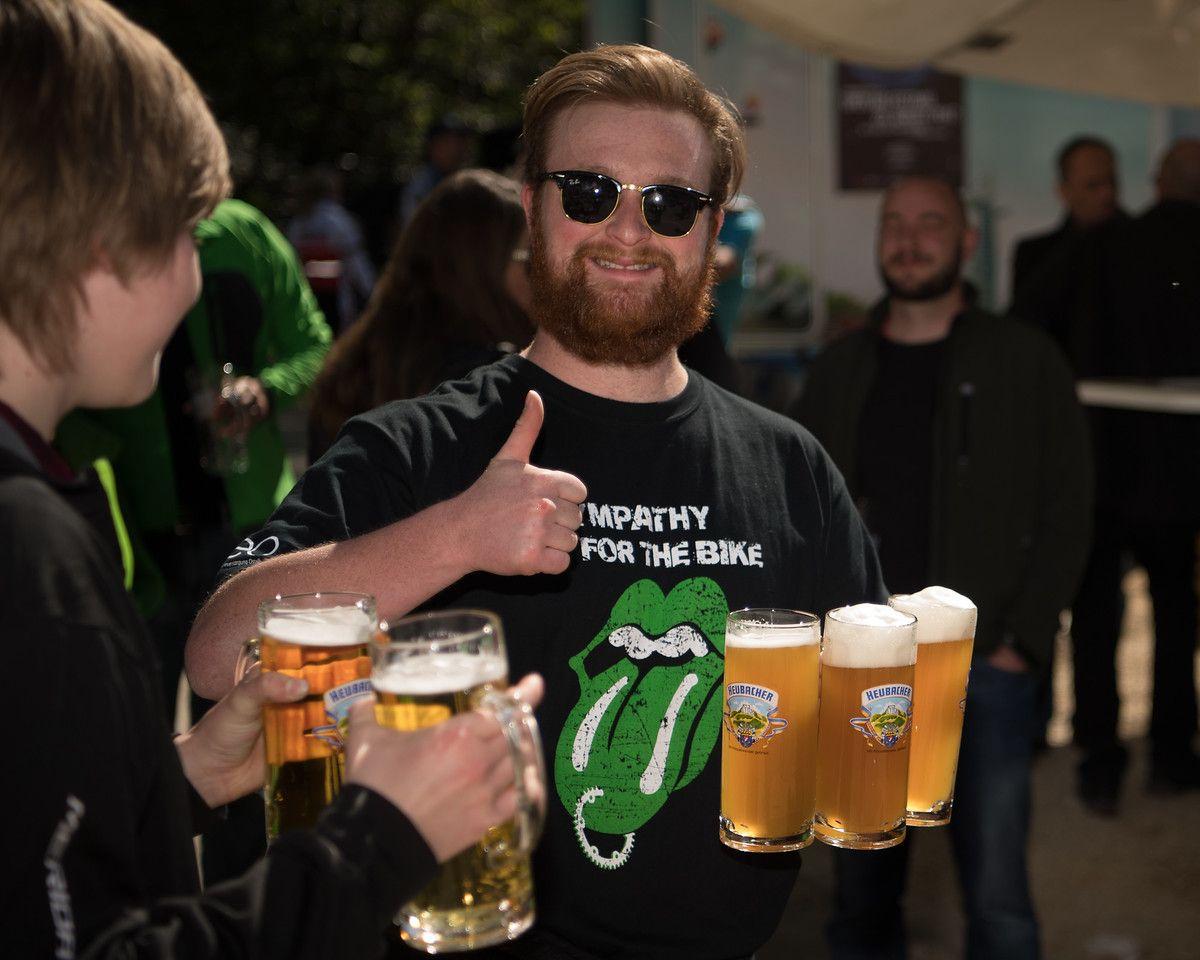 Es Alemania, que no falte la cerveza