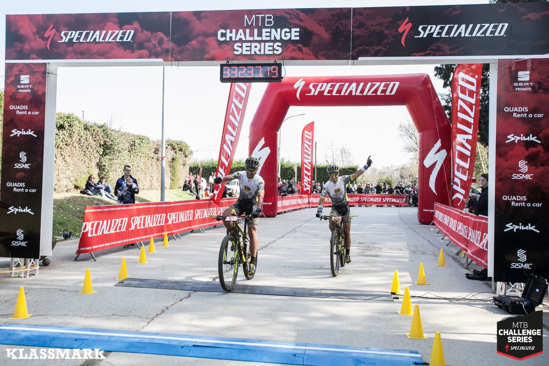 Llegada de la Girona MTB Challenge