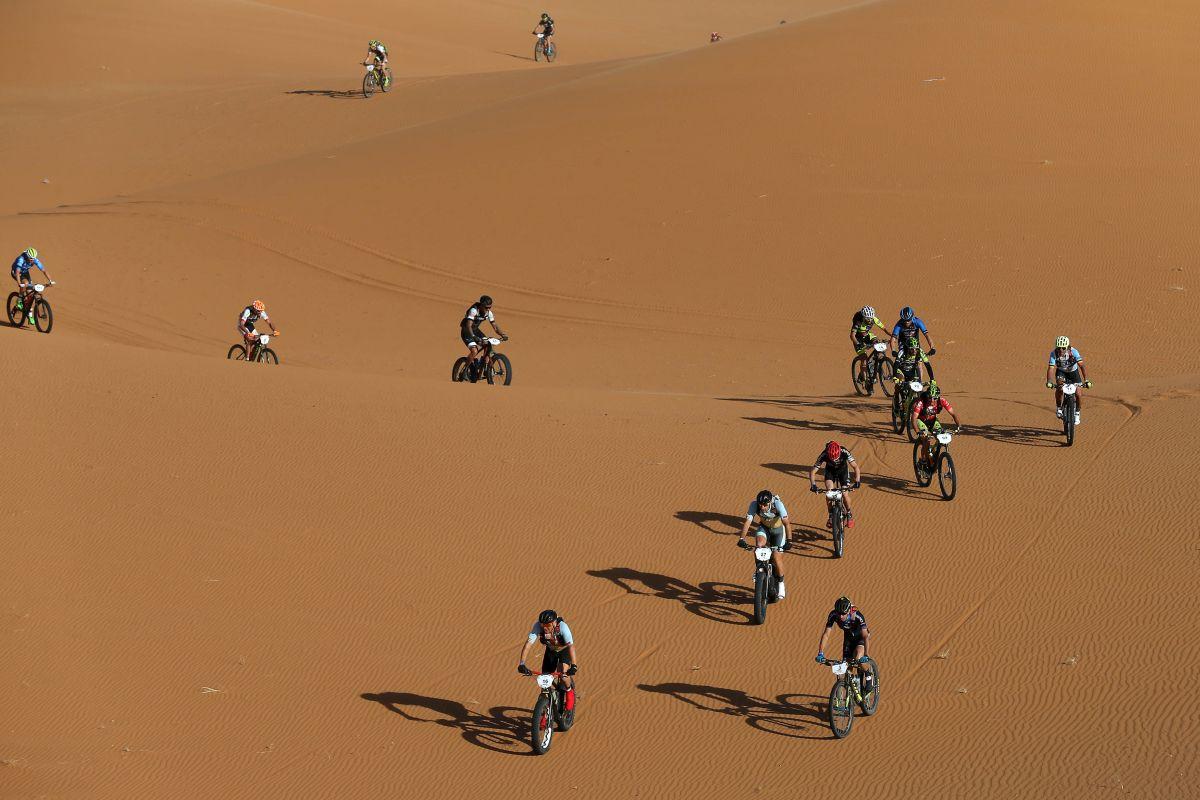 El terreno donde las fatbikes son las reinas, las dunas
