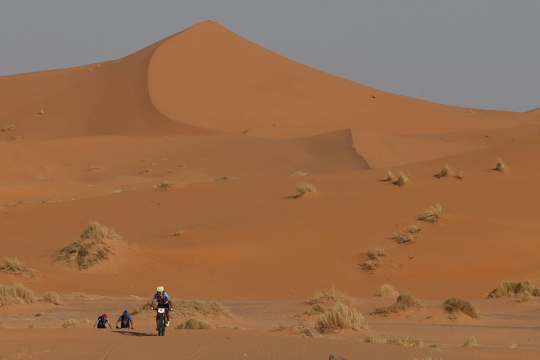 Día de dunas y navegación