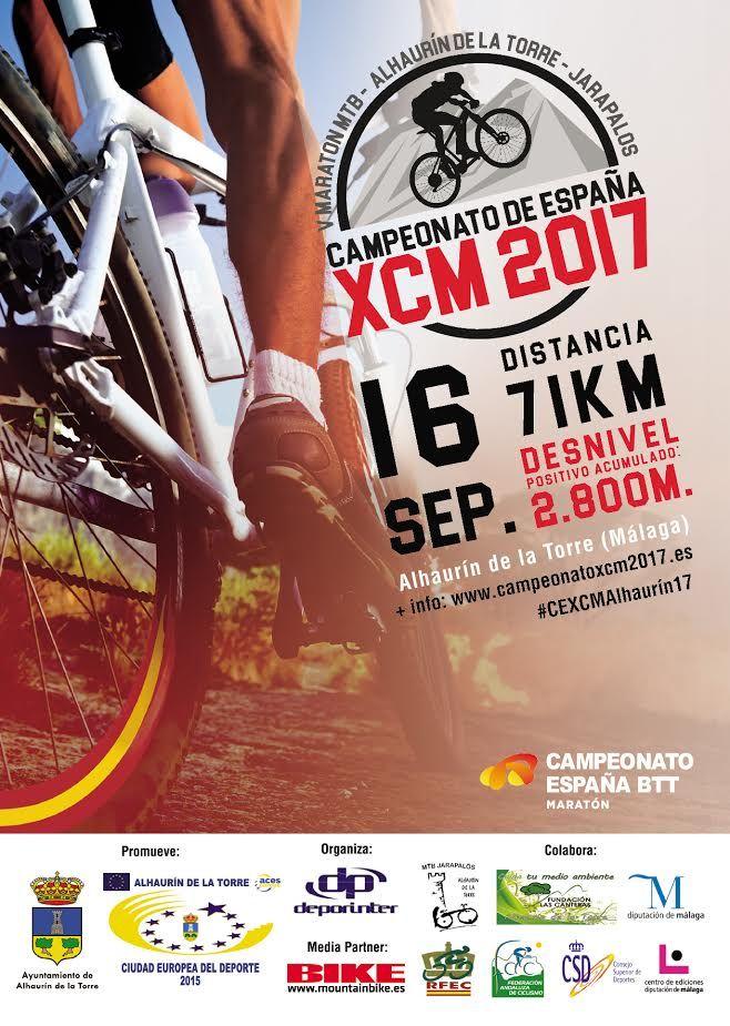 Cartel Campeonato España XCM 2017