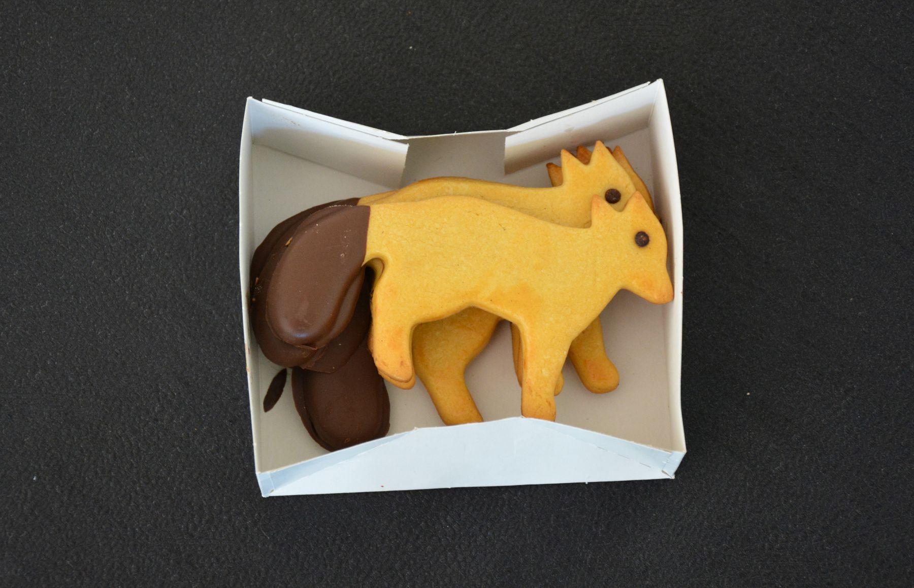 Unas galletitas con estilo... aunque puestos a meter azúcar al cuerpo os recomendamos los pasteles de Belem, dulce típico de Portugal con cuyas calorías podréis pedalear durante días!