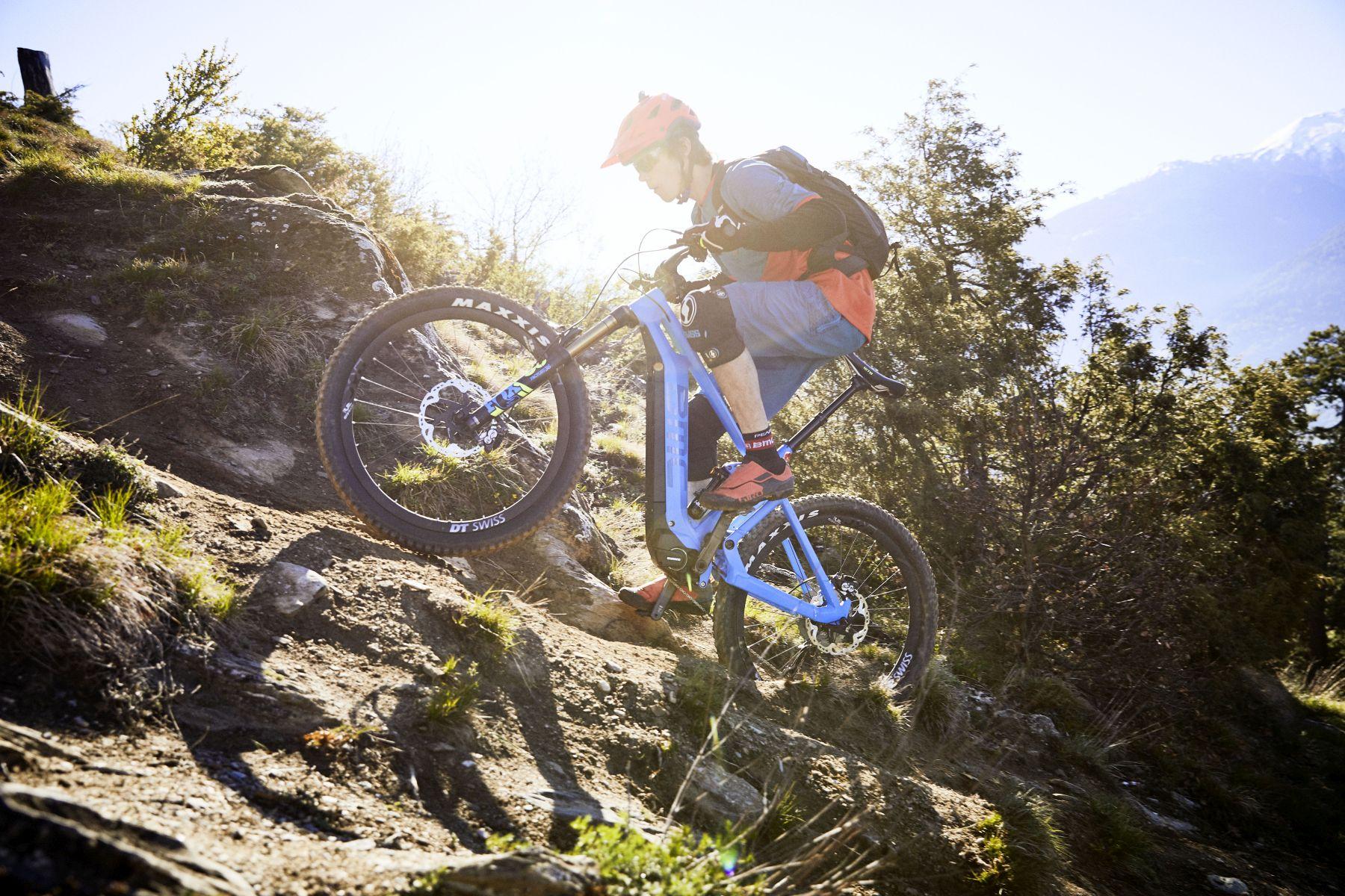 BMC Trailfox AMP, una bicicleta allmountain que funcione como una MTB tradicional pero con la ventaja del motor para aliviar las subidas