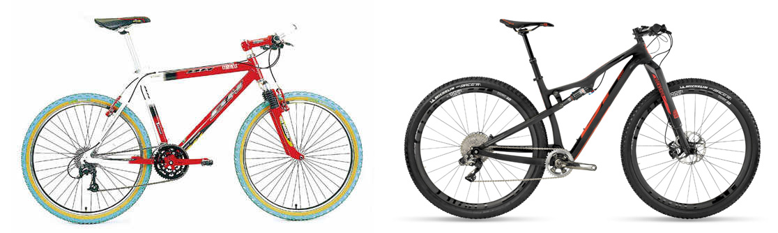 Del pasado al presente y futuro de las bicis de competición de XC en BH