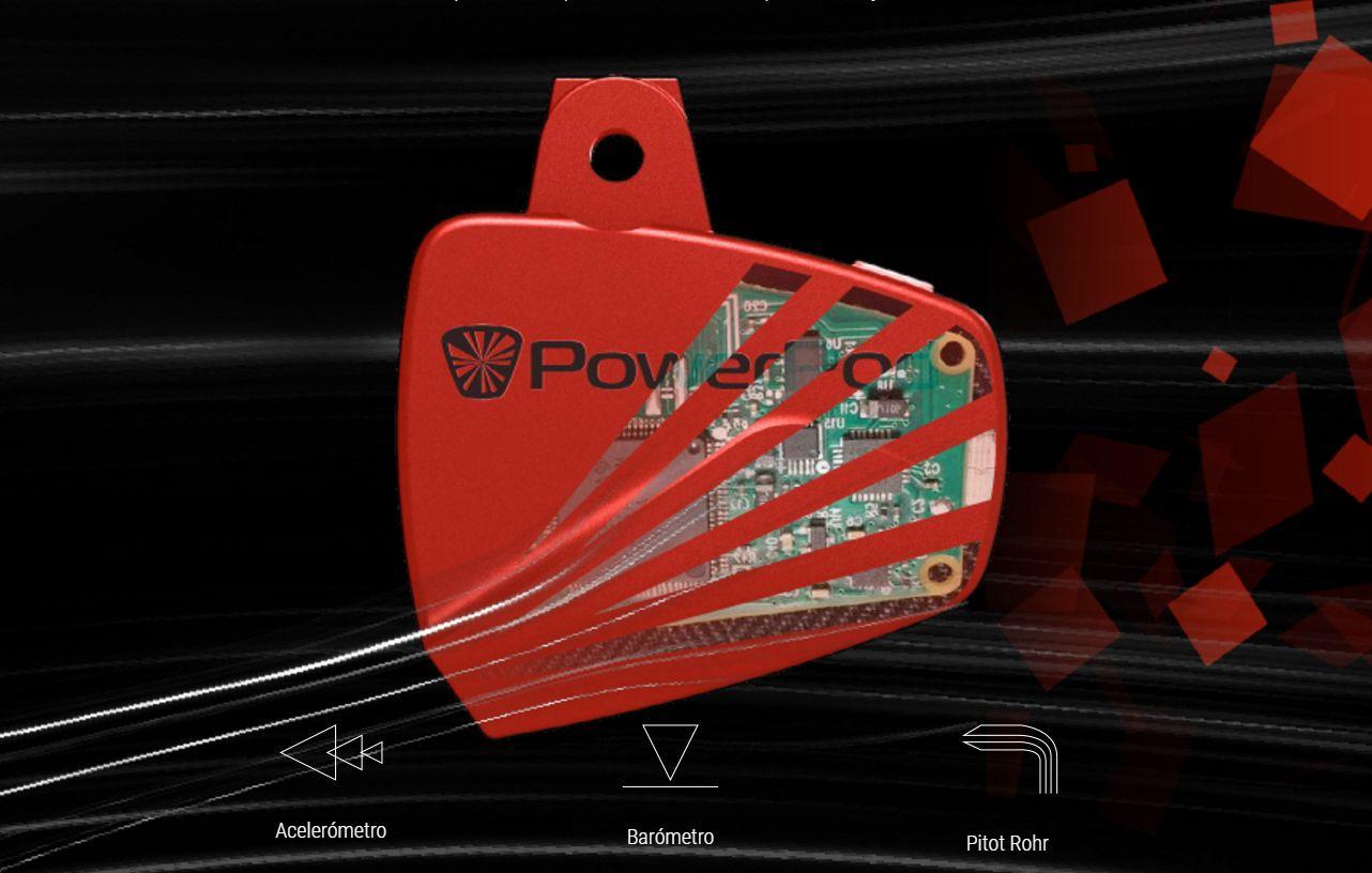Powerpod y sus sensores de medición