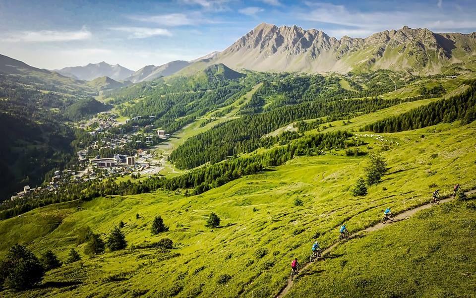 Alps Epic, paisajes de postal