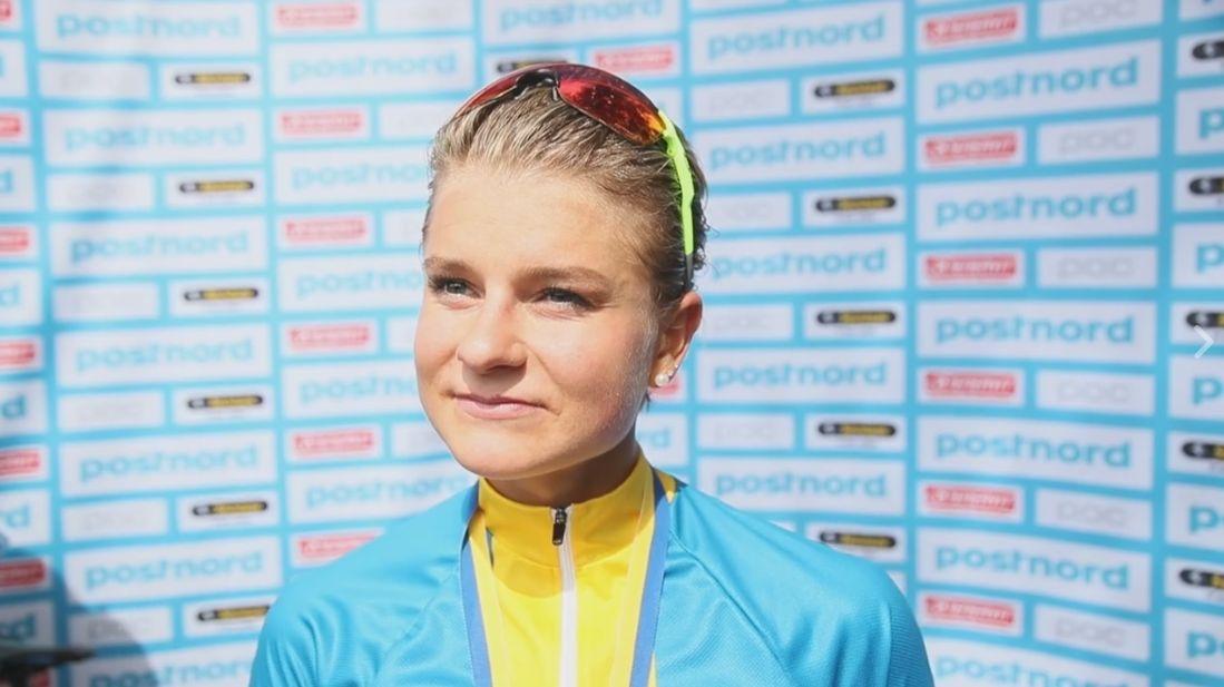Jenny Rissveds en su retorno a la competición