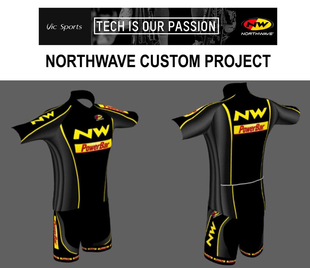 Ropa ciclista personalizada con Northwave