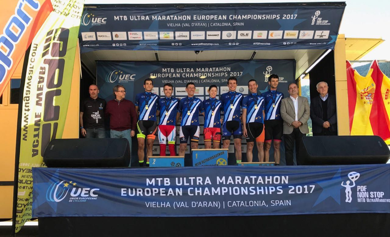 Los primeros campeones de Europa de ultramaraton