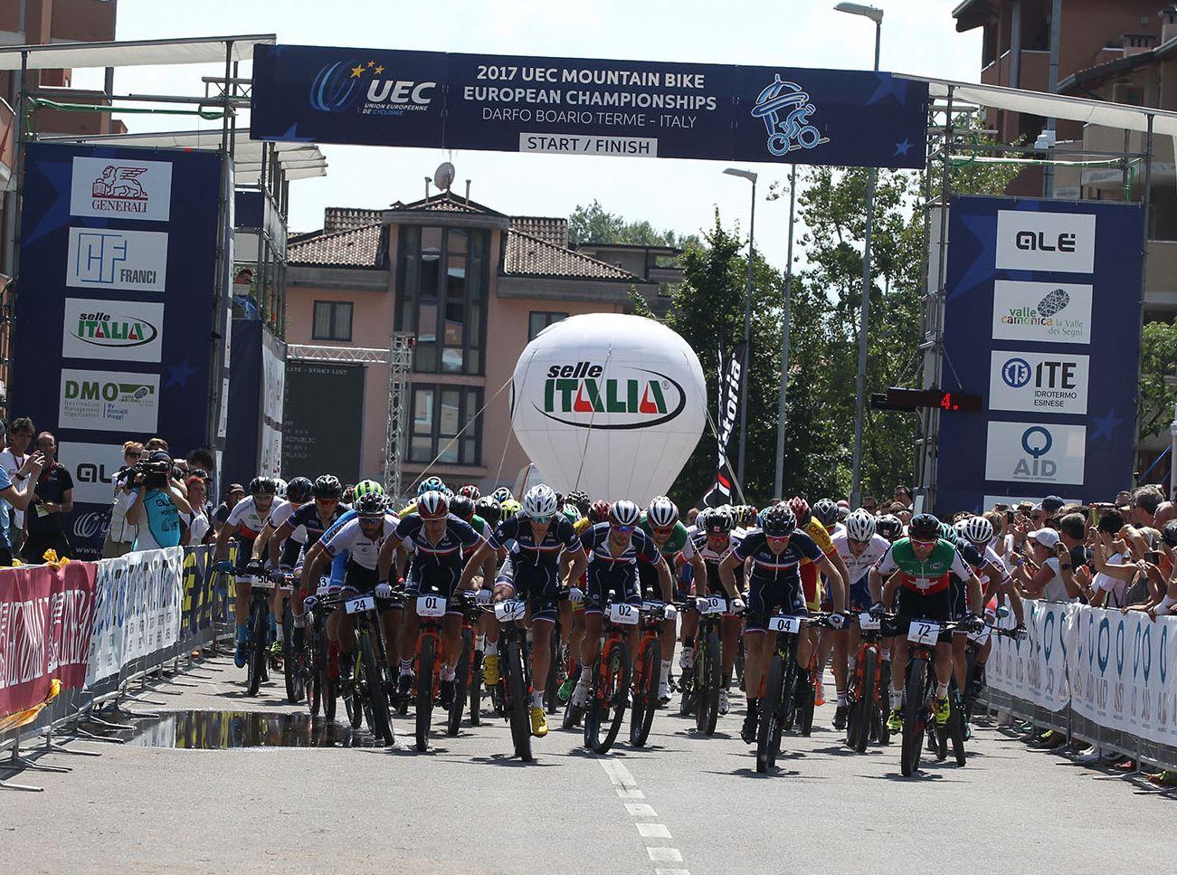 57 bikers en la prueba elite. El Europeo parece que no es prioridad para muchos. Ni Schurter ni Kulhavy estuvieron