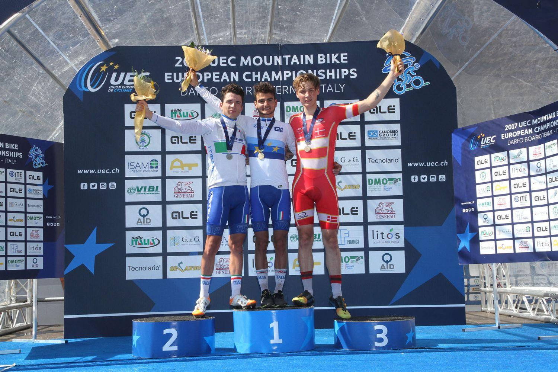 Simon Andreassen completaba el podio sub-23. La prueba solo tenía un español en liza, Josep Duran, que era 20º