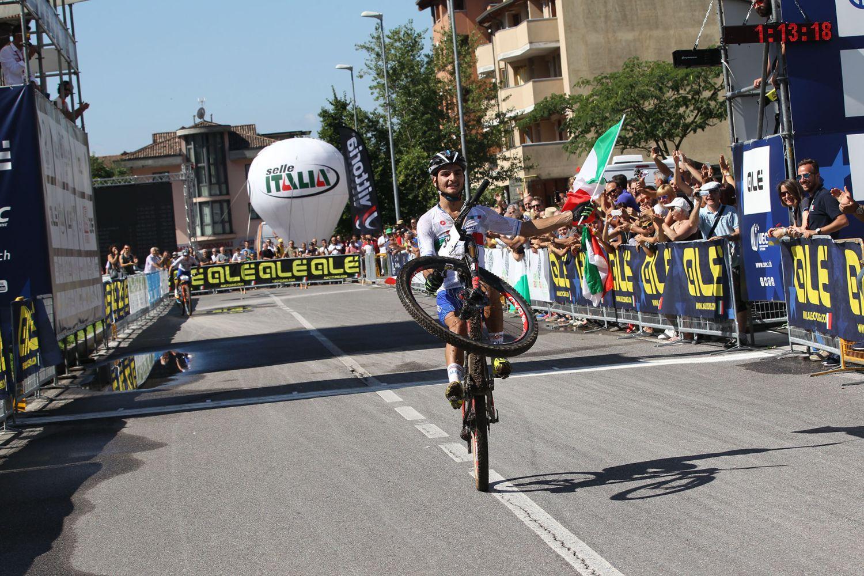 Gioele Bertolini sorprendía en sub-23 ganando a su compatriota Nadir Colledani