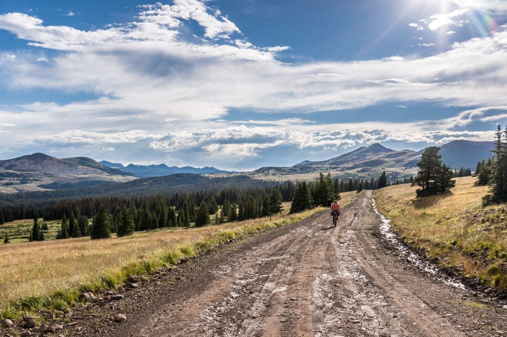 Paisajes de la Great Divide Mountain Bike Route