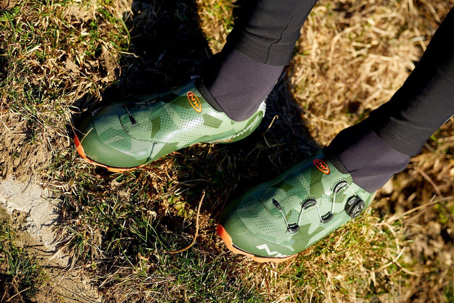 Northwave Raptor GTX Road Bike Zapatos de Invierno Reflective//Lobster Naranja