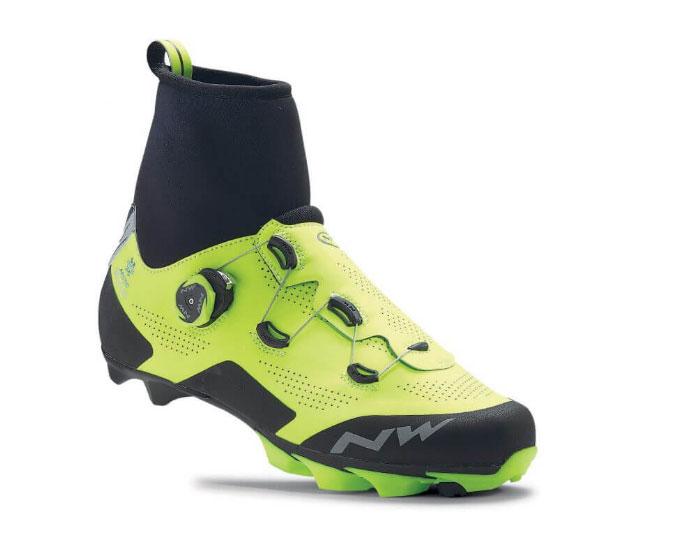 Northwave y sus 7 modelos de zapatillas de invierno para MTB