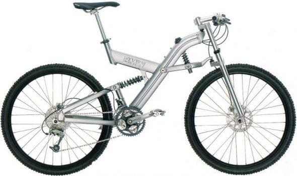 Mountain bike BMW con Telelever