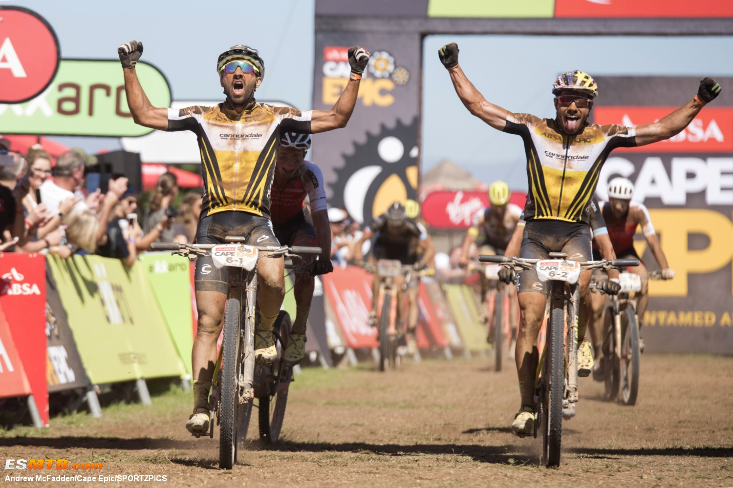 Absa Cape Epic 2018 Stage 2 - Robertson