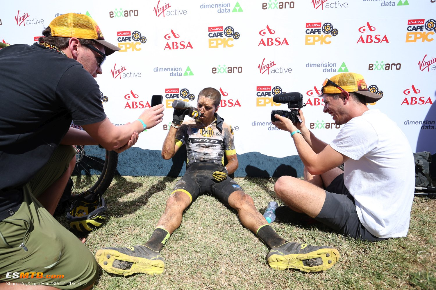 Absa Cape Epic 2018 Etapa 4 - Worcester to Wellington