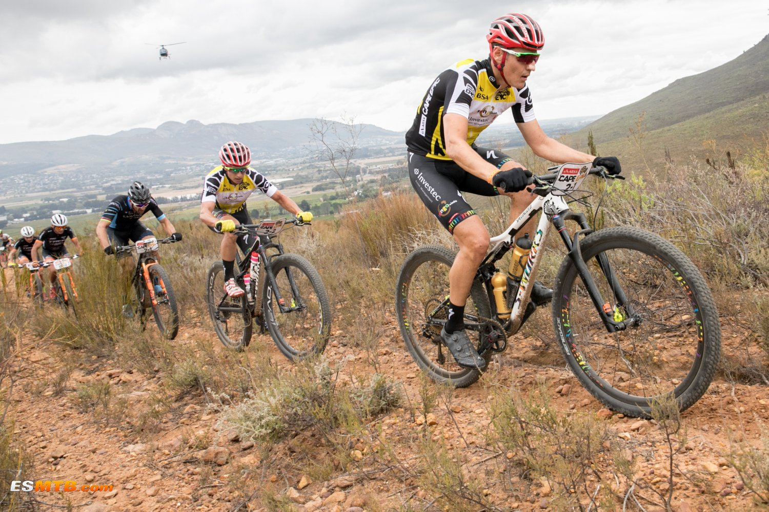 Absa Cape Epic 2018 Etapa 7 - Wellington to Paarl