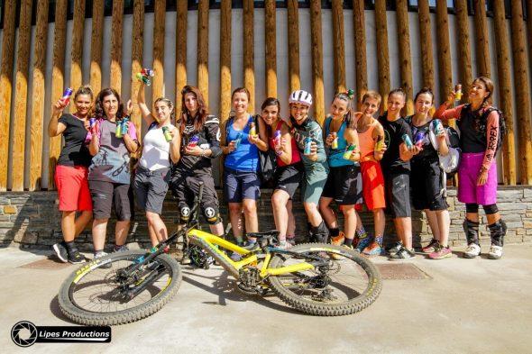 La Molina Bike Park, curso DH para chicas