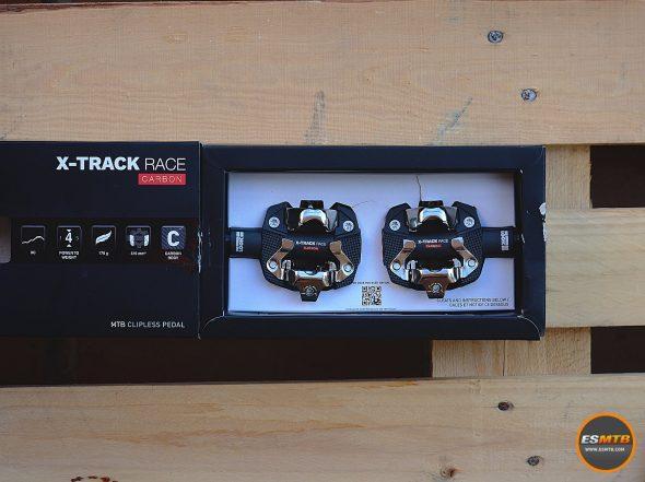 Pedales de mountain bike Look X-Track Race Carbon
