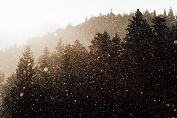 Lluvia en La Bresse