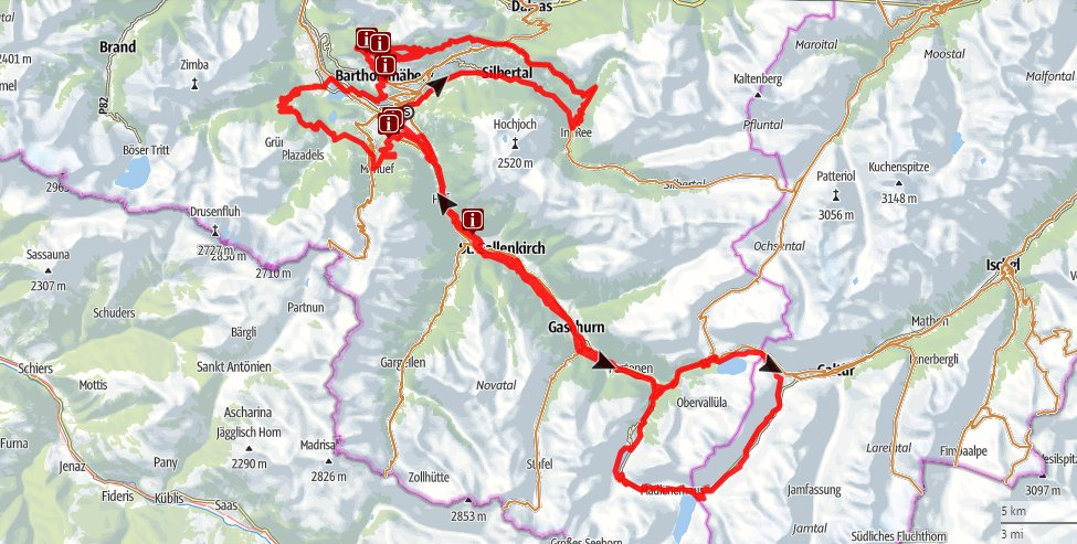 M3 Montafon Mountain bike marathon