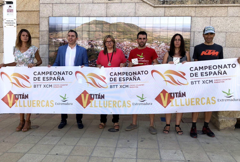 Presentación del Campeonato de España en Logrosan