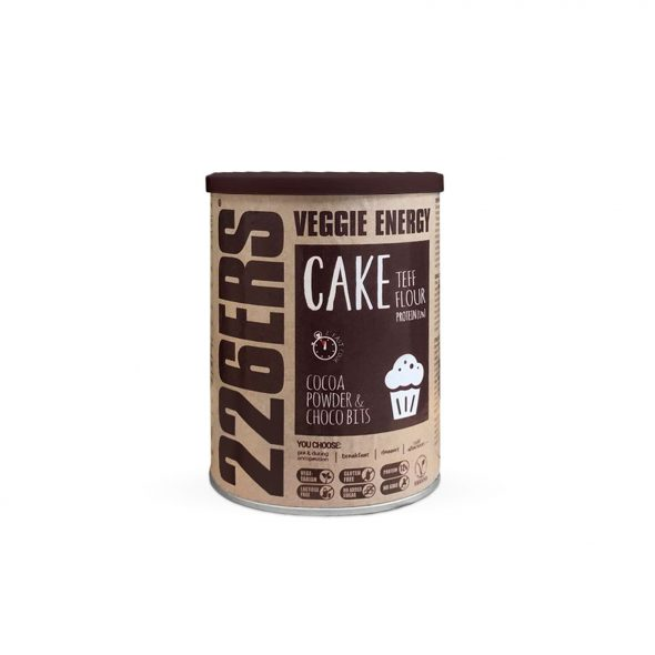 VEGGIE ENERGY CAKE – Harina de teff + Trozos de Chocolate