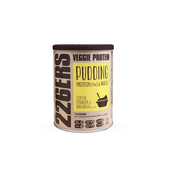 VEGGIE PROTEIN PUDDING – Proteína de guisante + Maca