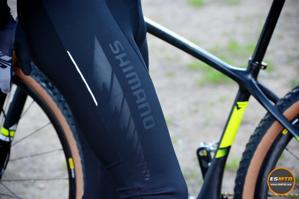 Culote largo Shimano Evolve Wind