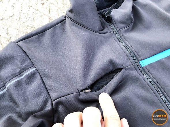 Chaqueta de invierno cortavientos Shimano Windbreak