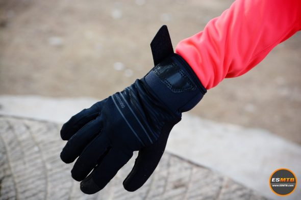 Guantes de invierno Shimano Windstopper Insulated