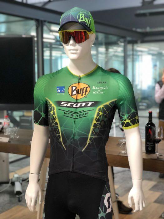 Nueva equipación Buff-Scott MTB Team 2019
