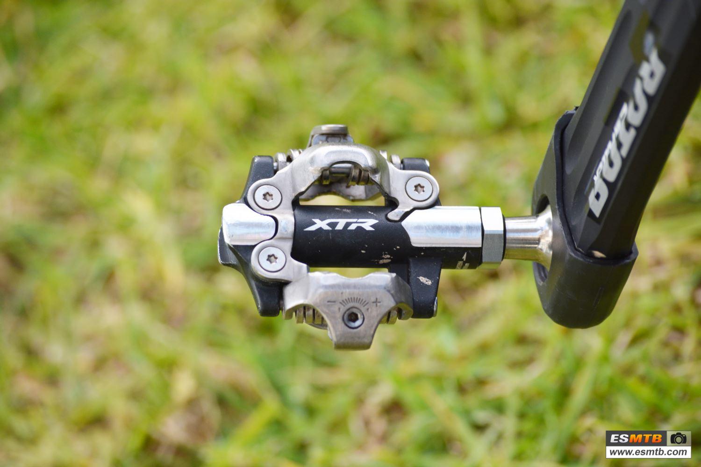 Pedales Shimano XTR, un clásico