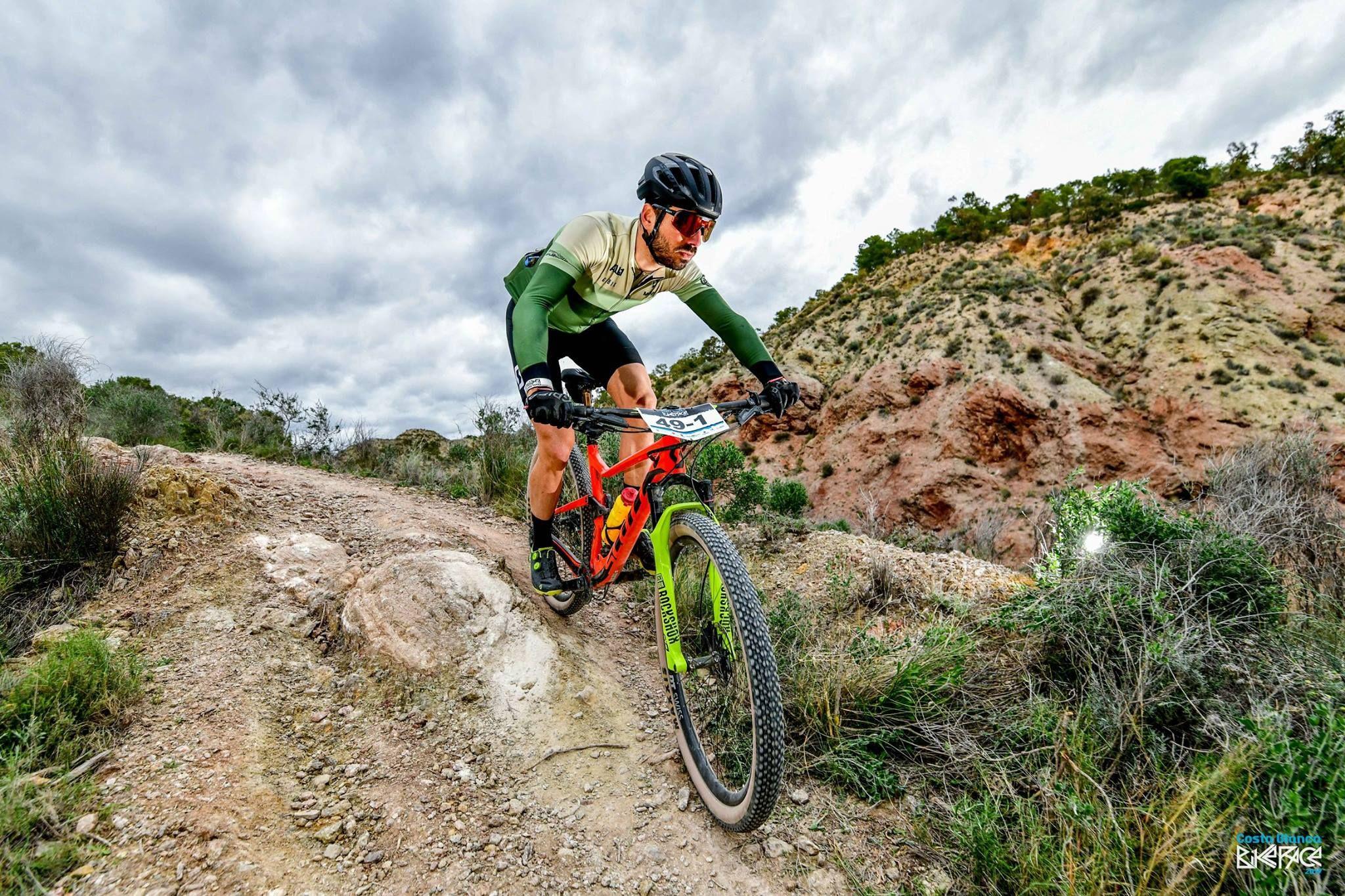 Didac Sabaté en la Costa Blanca Bike Race