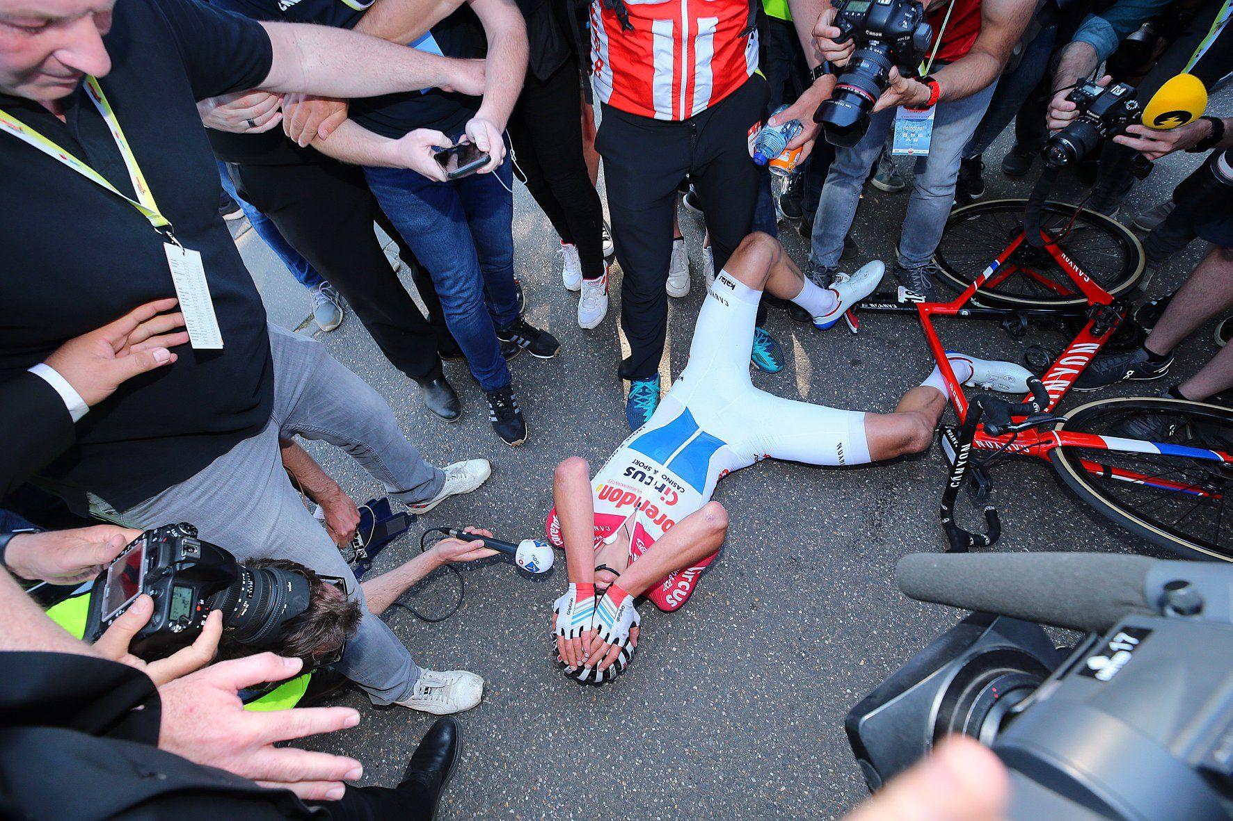 Mathieu van der Poel en la Amstel Gold Race