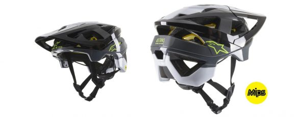 Casco Vector Tech Pilot Negro, Blanco y Gris
