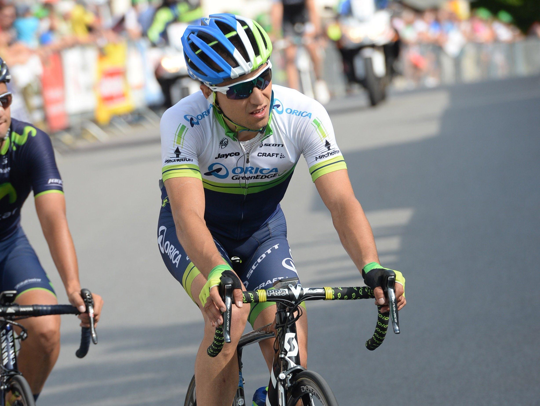 Nino Schurter en el Tour de Suiza