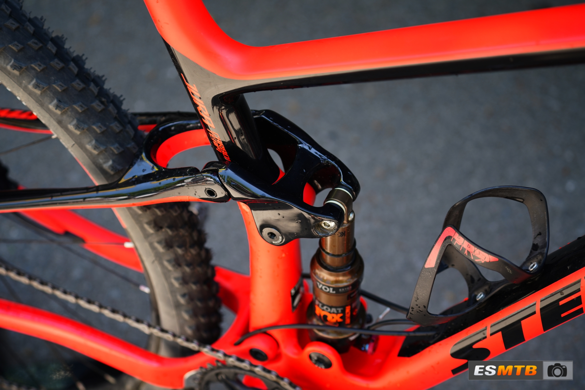 Doble XC Stevens Jura prototipo