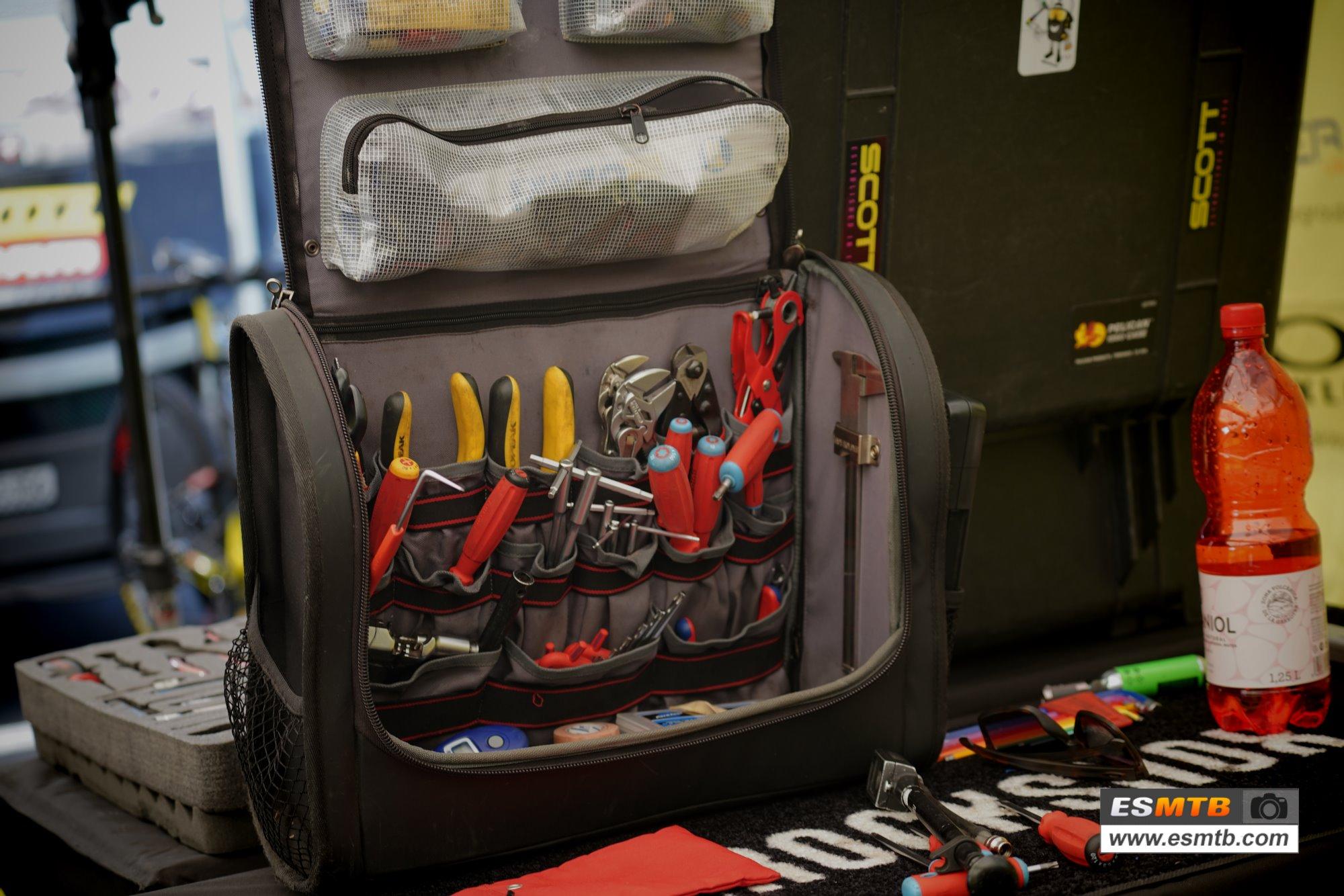 Caja de herramientas de Yanick the mechanic